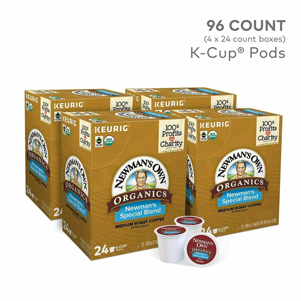 Newmans Own Keurig K Cup 100 Cups Special Blend Extra