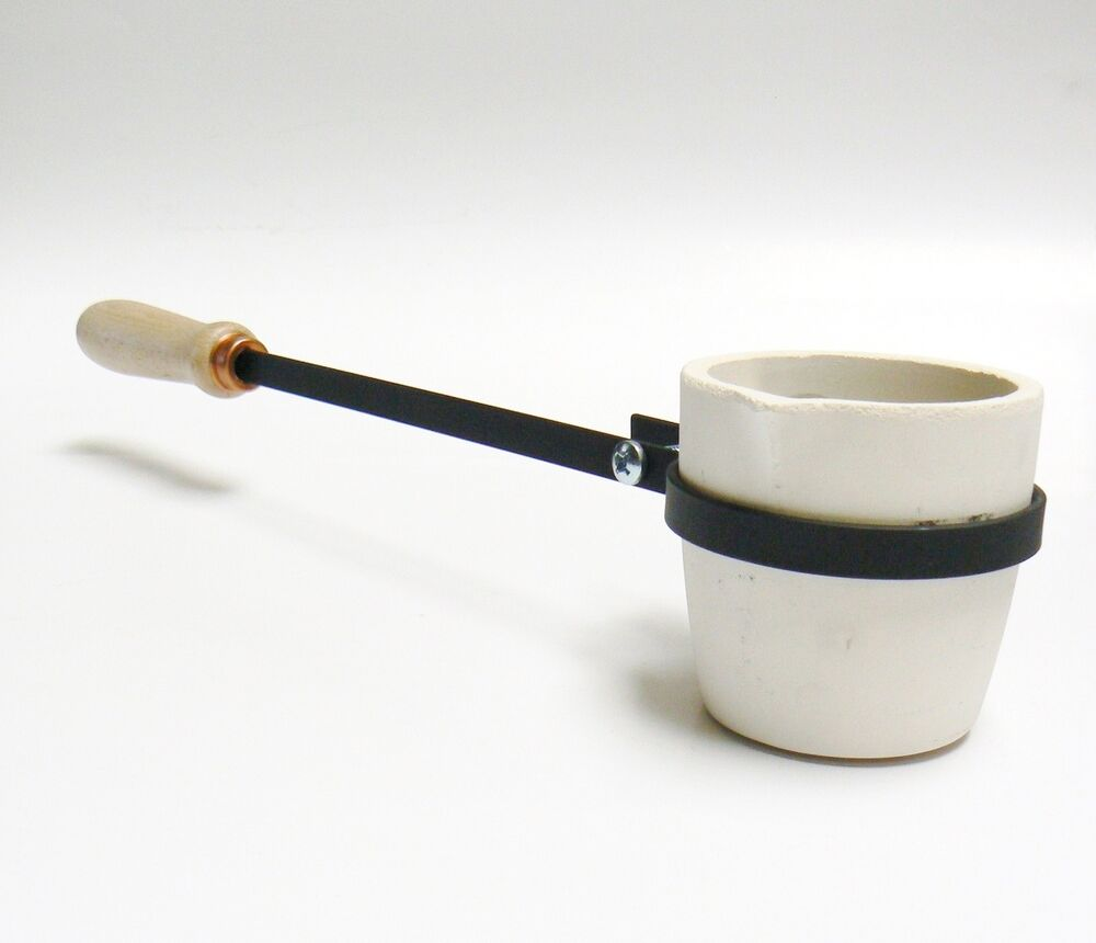Melting Crucible With Handle 40oz Cup Type Crucible