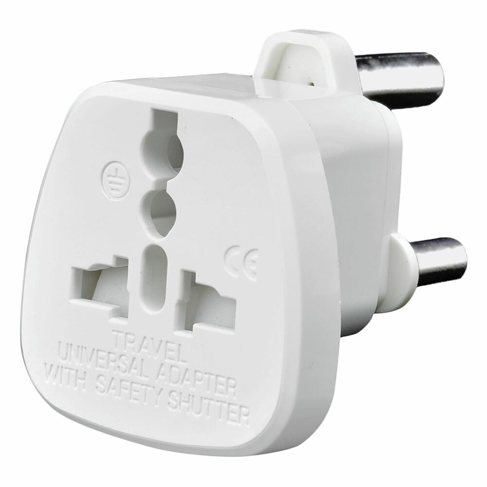 Uk Usa Us Eu Au Australia Switzerland To South Africa Mains Travel Plug Adaptor Ebay