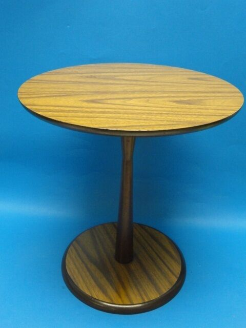modern mid century modern era laminated side table by artex ebay