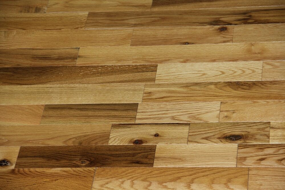Very rustic 3 common red oak prefinished flooring for Rustic red oak flooring