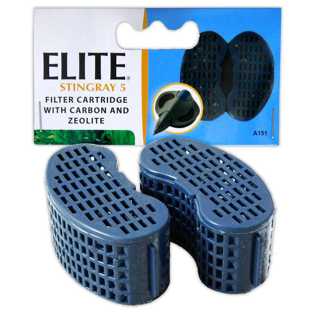 Elite stingray 5 carbon cartridge filter media replacement for Charcoal fish tank filter