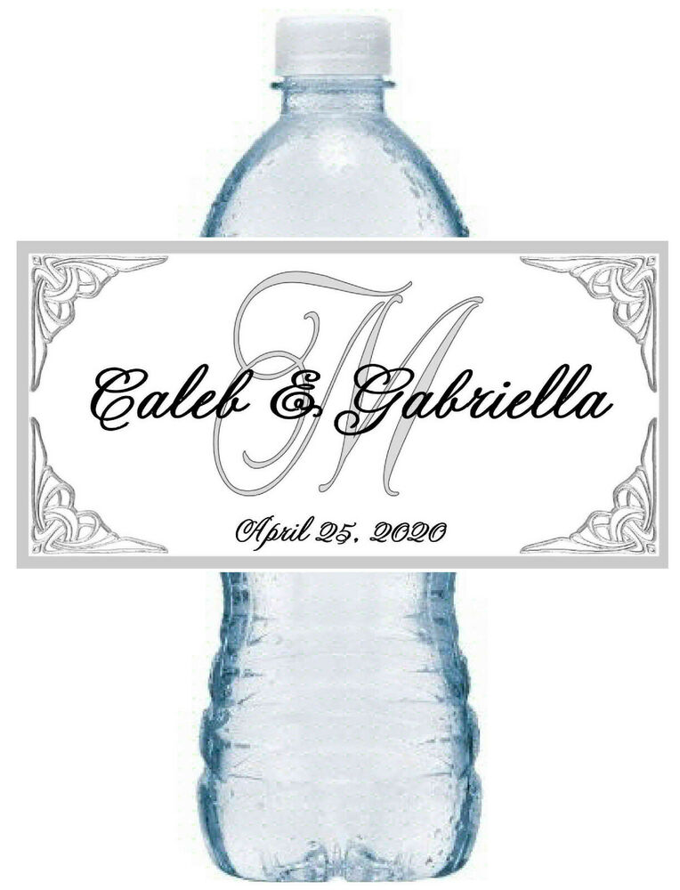 Wedding Water Bottle Labels | eBay