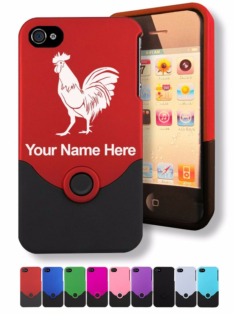 custom iphone case personalized custom laser engraved iphone 4 4s cover 10468