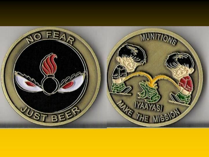 Ammo No Fear Load Toad Air Force Challenge Coin St Ebay