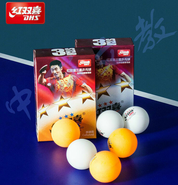 100 genuine 18 x balls dhs ittf approved 3 star 40mm for 100 table tennis balls