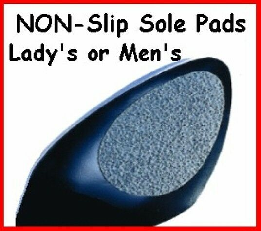 two pairs 2 sole grips for bottoms of shoes non