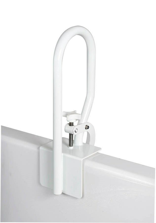 Bathtub Rail Safety Grab Bar Carex White Bathroom Shower