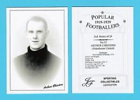 JF SPORTING - FOOTBALLER CARD 1919-39 - ARTHUR  CHESTERS  OF  MANCHESTER  UNITED
