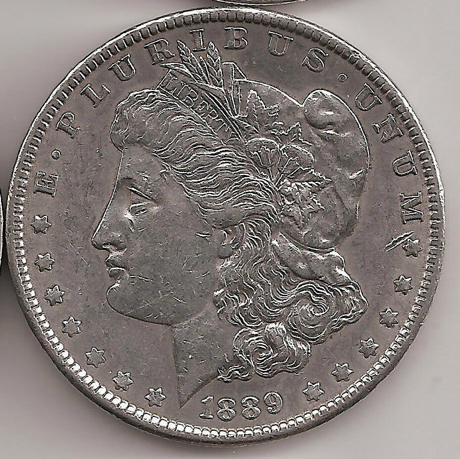 1889 P Silver Morgan Dollar Ebay