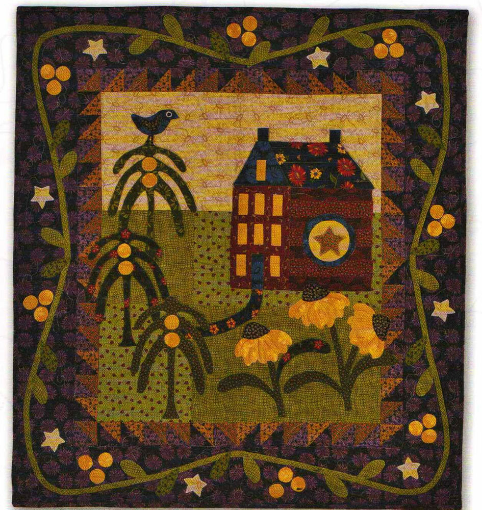 The village chelsea lane country quilts applique patchwork for Patchwork quilt book