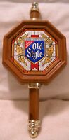 VINTAGE HEILEMAN'S OLD STYLE BEER SIGN NOT ILLUMINATED