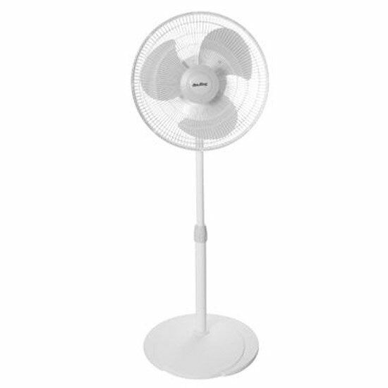 Air King Oscillating Pedestal Fan : Air king quot pedestal fan stand inch oscillating co