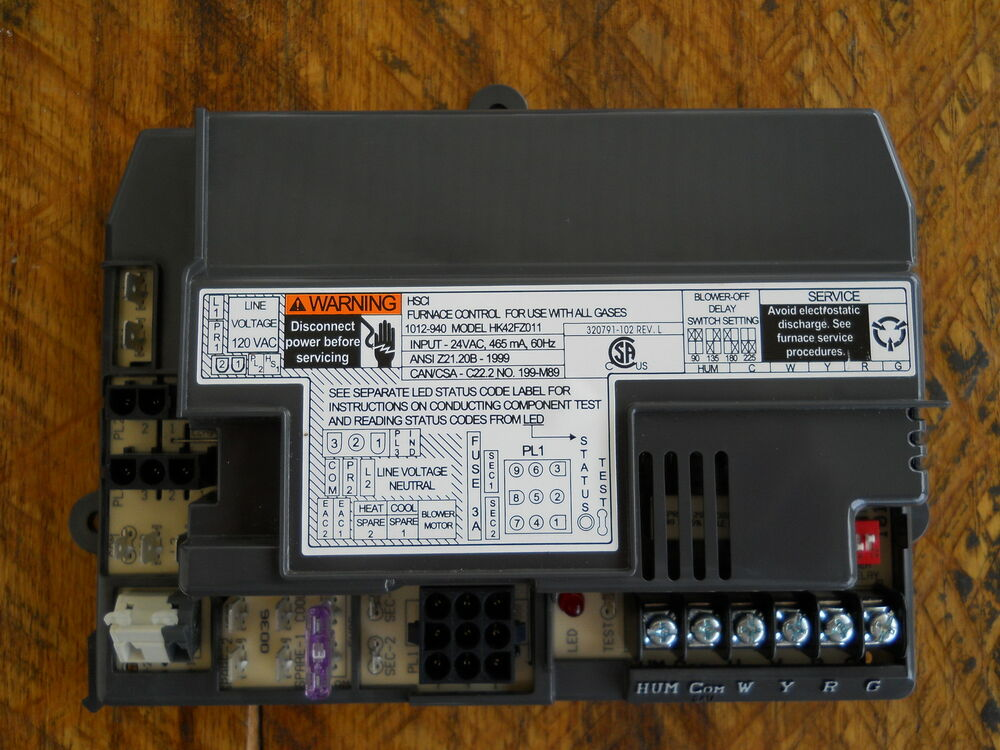 New Carrier Bryant Furnace Control Board Hk42fz011 Ebay