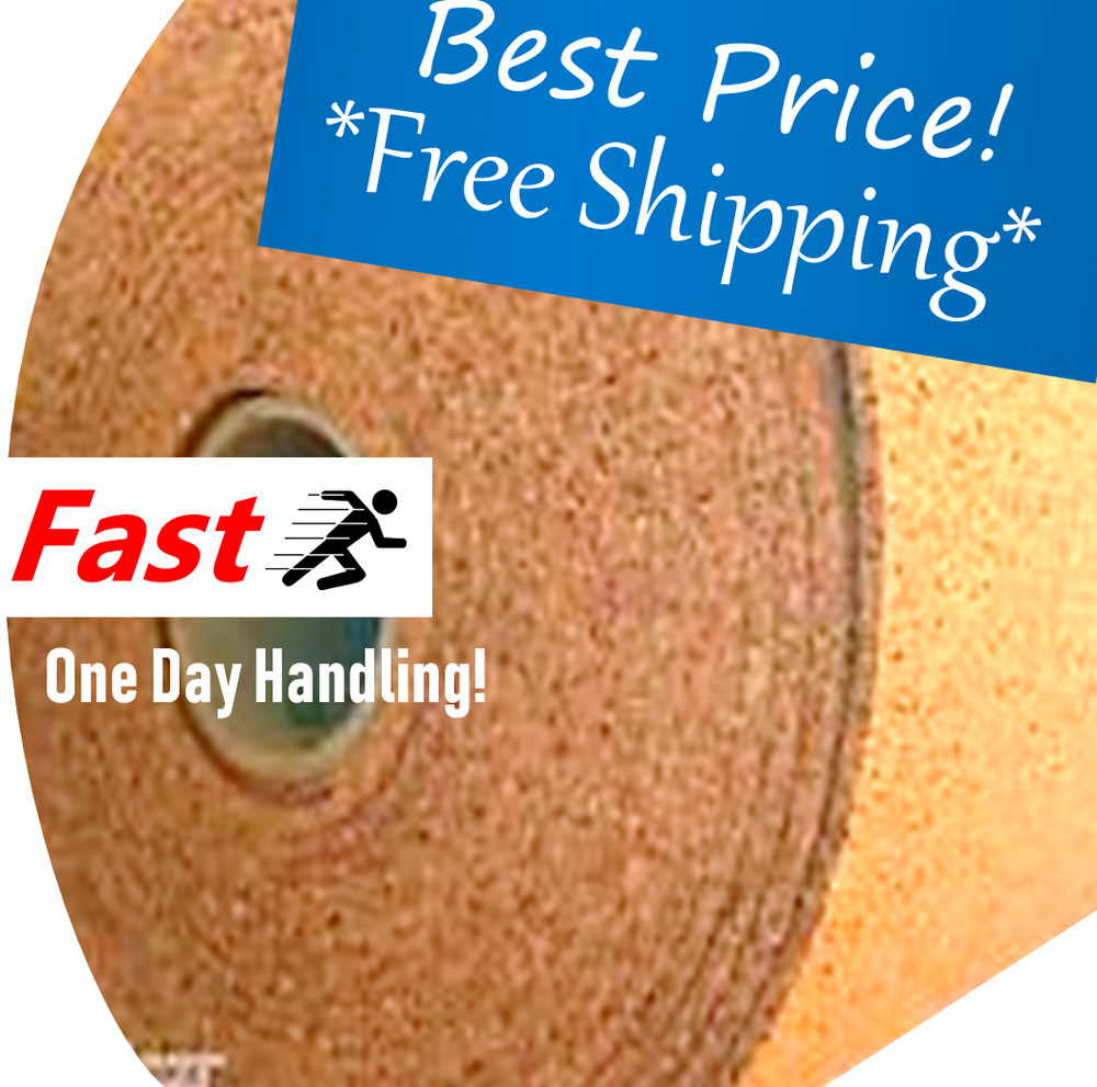 4 Wide By The Foot 1 4 Quot Thick One Cork Roll Choose Size