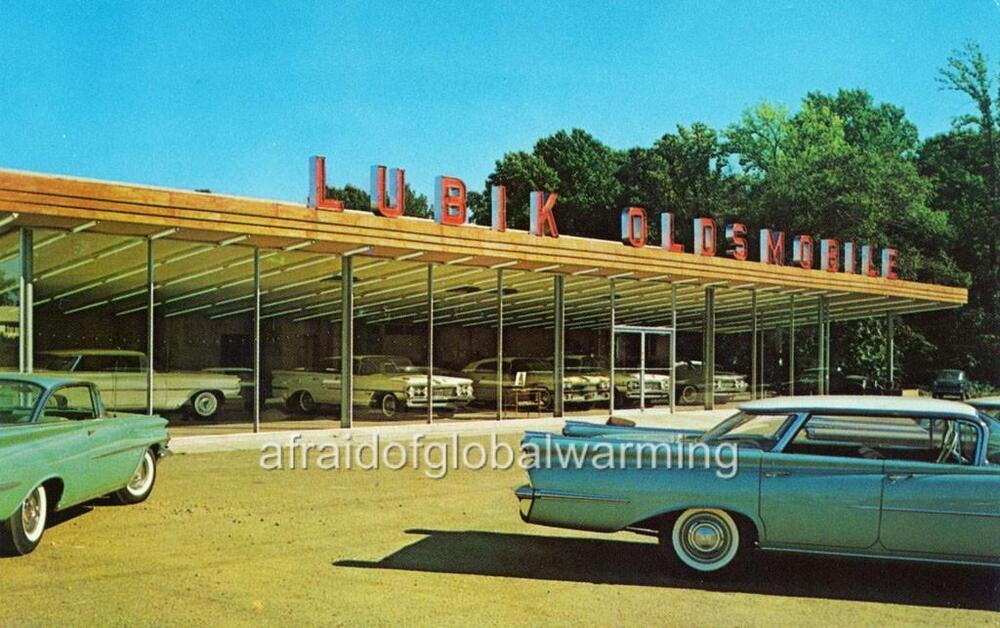 Photo 1950s bordentown new jersey lubik oldsmobile ebay for Griffith motors home pa