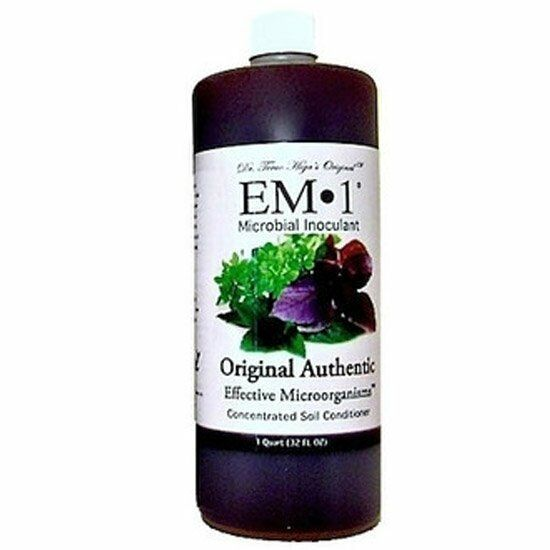 Em 1 quart microbial inoculant organic soil conditioner ebay for Organic soil uk