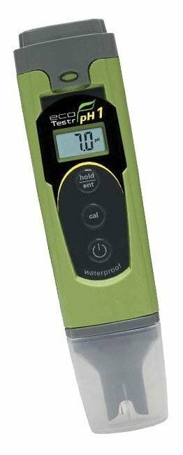 Waterproof Ph Meters : Oakton ecotestr ph waterproof tester meter hydropon ebay