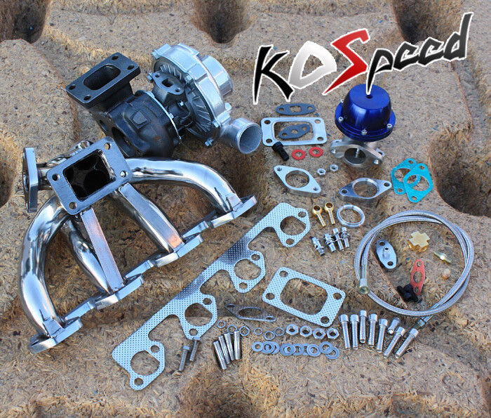 Ford Universal Turbo Kit: FORD DURATEC T04E T3 TURBO CHARGER MANIFOLD TURBOCHARGER