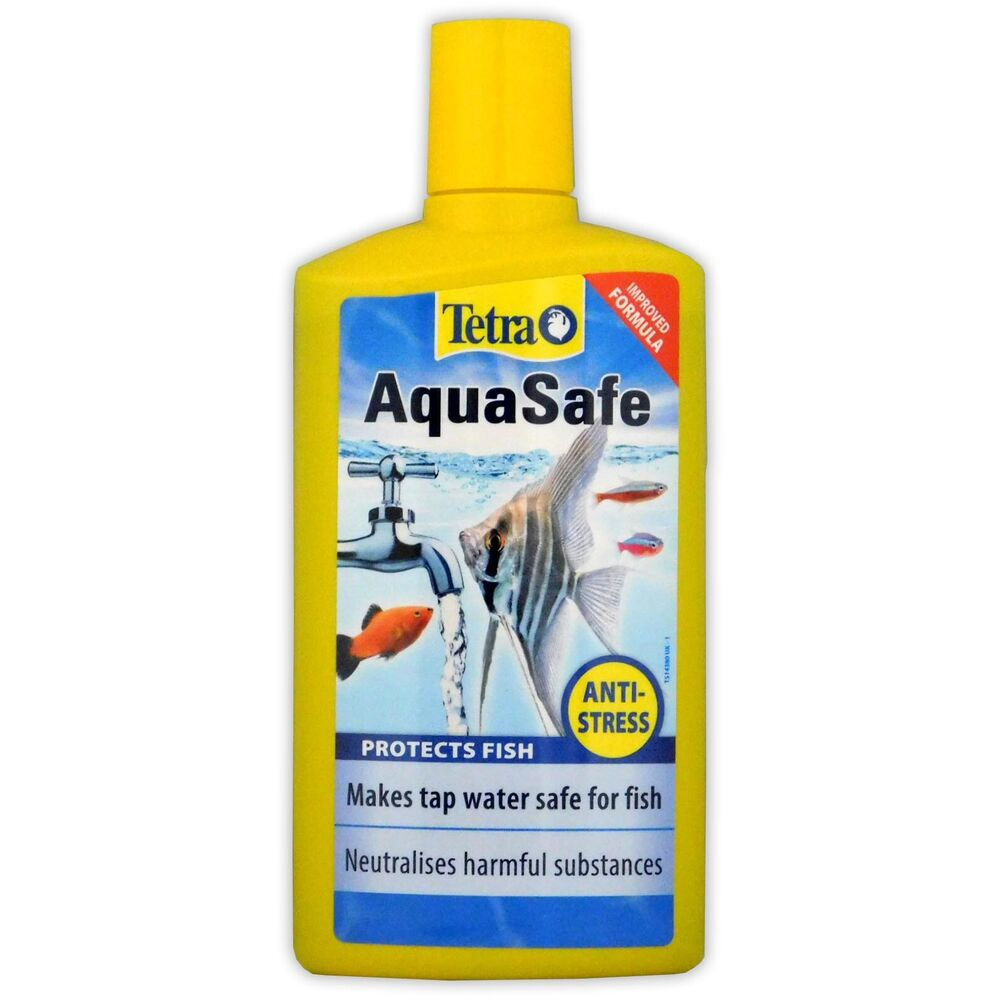 Tetra aquasafe 500ml tap water conditioner treatment for Water conditioner for fish tank