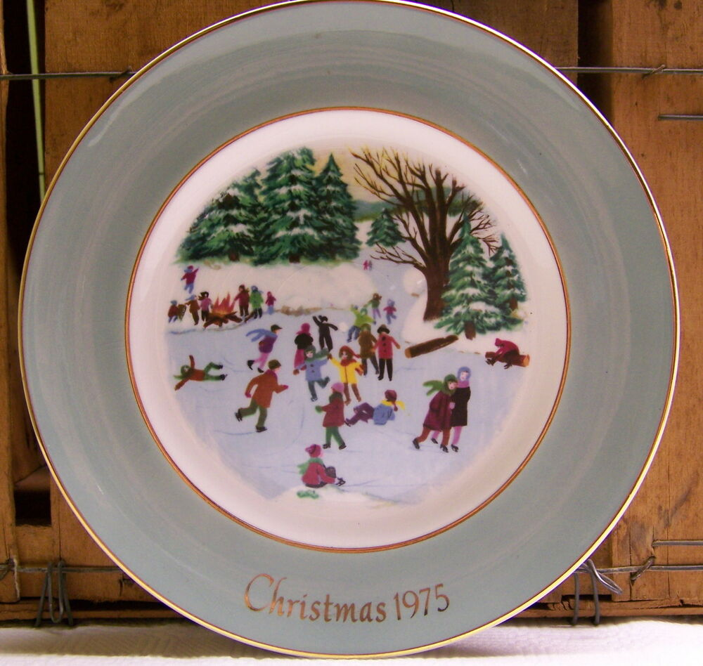 Decorative Christmas Plate