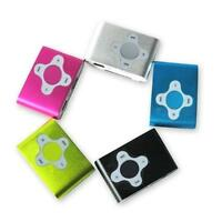 New Mini Clip Cross Shape Mp3 Music Player Support 1GB To 8GB Micro SD Cards