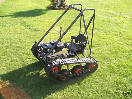 Personal Tracked Vehicle Go Kart Build Plans EBay