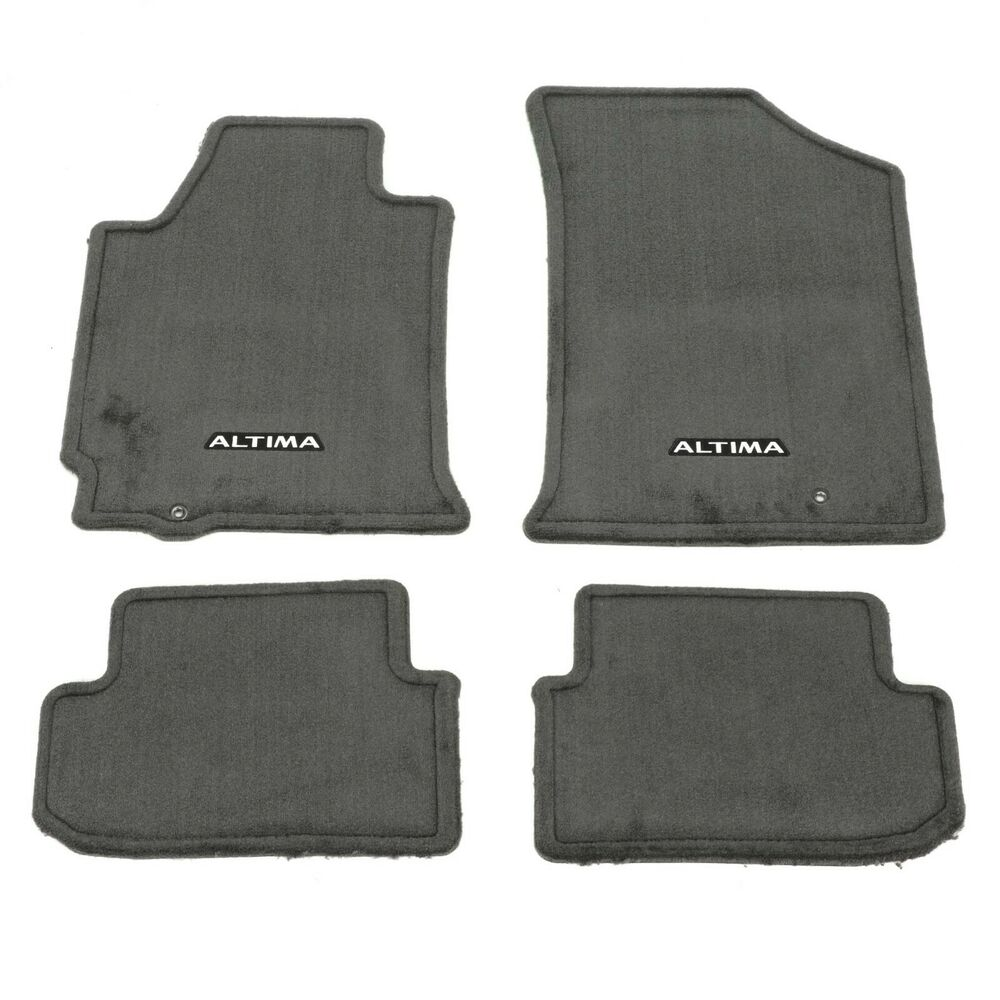 2009 2012 nissan altima coupe charcoal carpeted floor mats. Black Bedroom Furniture Sets. Home Design Ideas