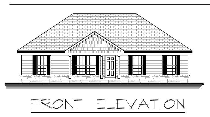 1638sf Ranch House Plan W Garage On Basement Ebay: house plans with garage in basement
