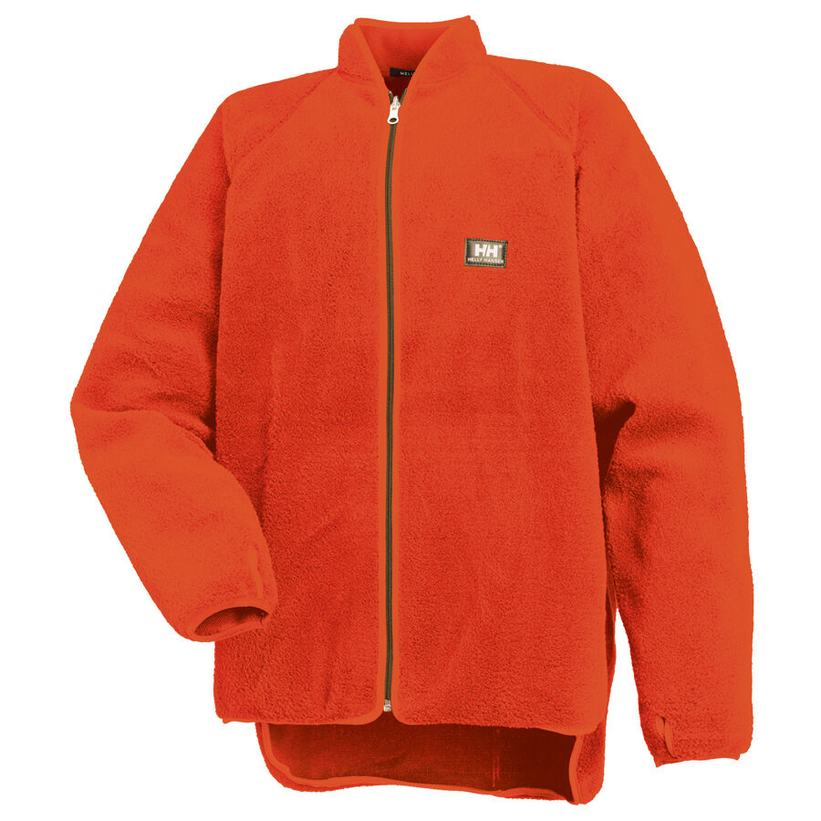 helly hansen basel jacke orange faserpelzjacke faserpelz forstjacke forst ebay. Black Bedroom Furniture Sets. Home Design Ideas