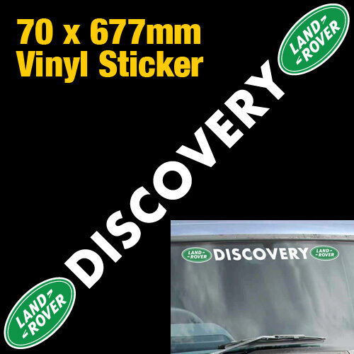 Landrover Discovery Side Stripe Decals Stickers Land Rover: LAND ROVER DISCOVERY VINYL STICKER