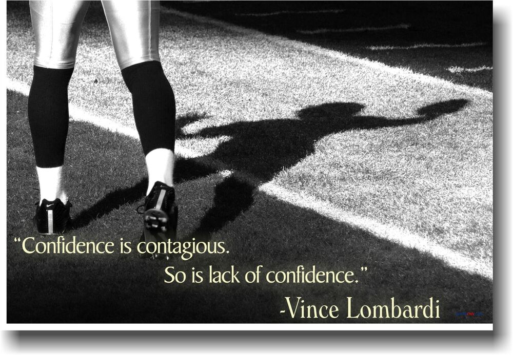 new vince lombardi quote confidence classroom sports