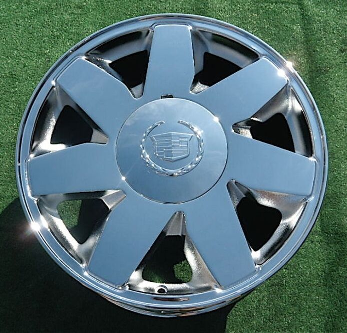 Used Cadillac Escalade Parts For Sale: 1 Brand NEW 2004 CHROME Cadillac Deville DTS 17 Inch Factory OEM Spec WHEEL 4572