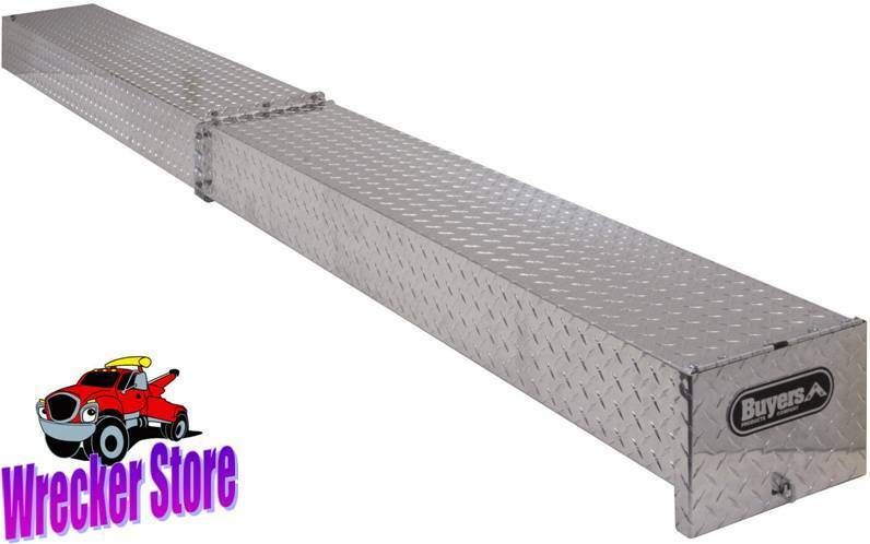 Diamond Plate Pipe : Truck conduit carrier for pipe tubing more aluminum