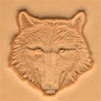 Craftool 3d Wolf Head Stamp 88459-00 by Tandy Leather