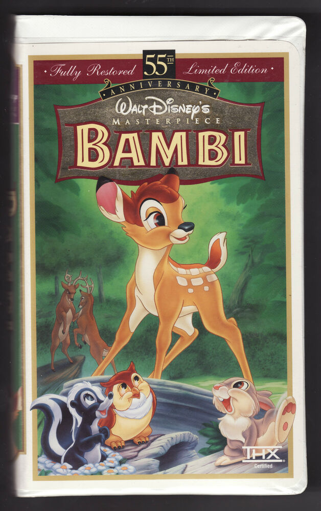 Bambi Vhs Images - Reverse Search