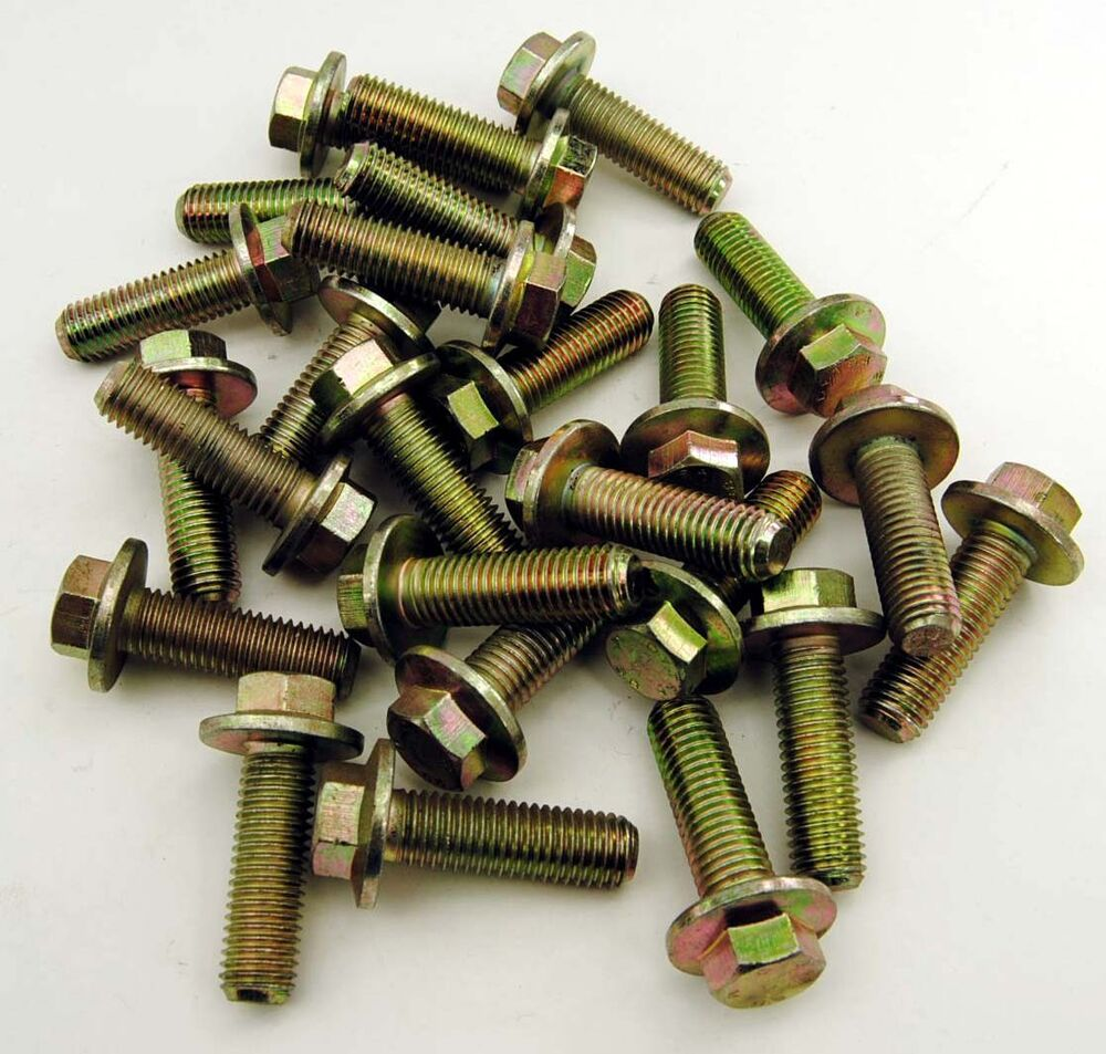 1000 8-125 x 20 metric flange screws and bolts