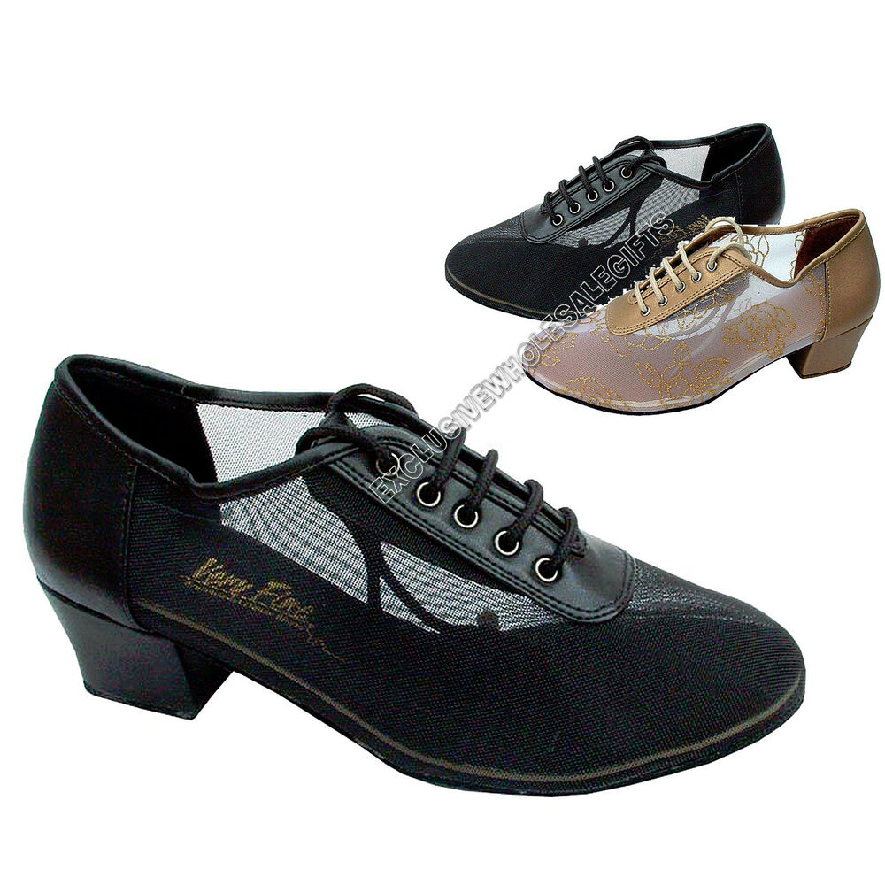 s ballroom salsa practice leather shoes