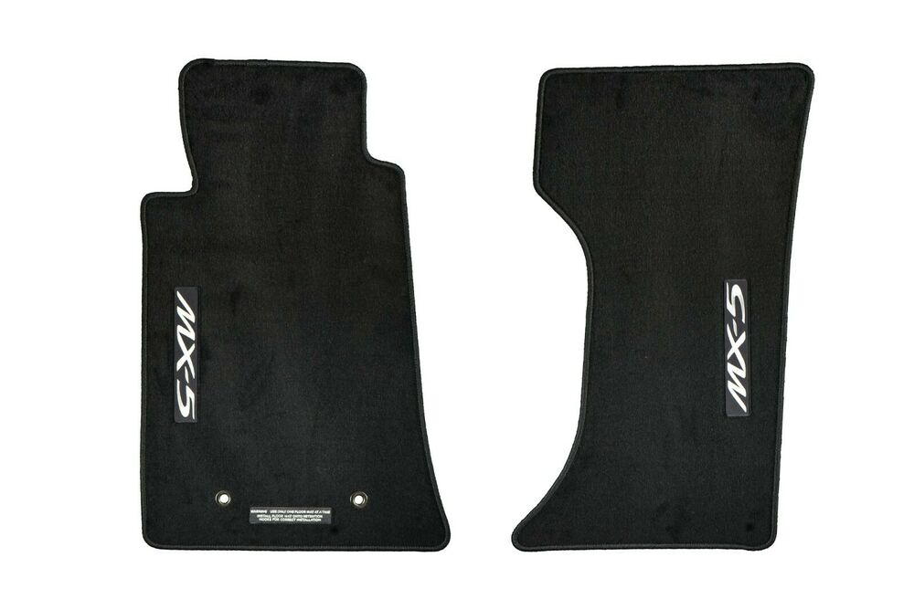 2006 2015 Mazda Mx 5 Miata Floor Mats Set Of 2 Front Black