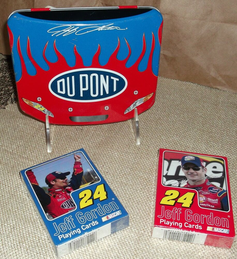 Jeff Gordon NASCAR 2005 Playing Cards Sealed Two Packs