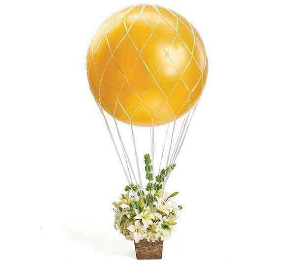 Plastic balloon net for 3 39 giant latex balloons decoration for Balloon nets for centerpieces
