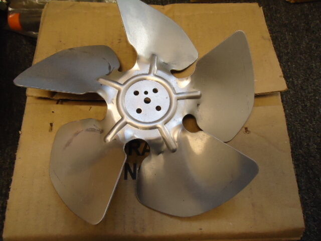 Replacement Metal Fan Blades : Morrill motors replacement fan blade aluminum f