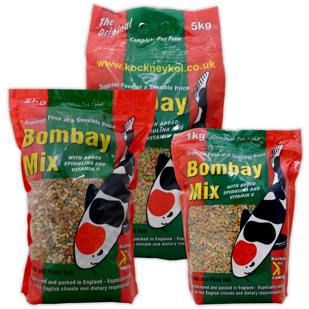 Yamitsu kockney koi bombay mix 1kg 2kg 5kg 10kg fish food for Best food for koi fish