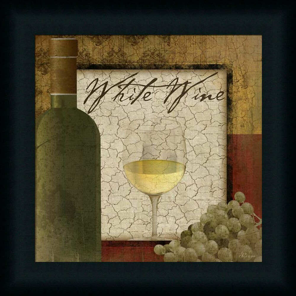 white wine by pugh dining room d cor grapes framed art print wall