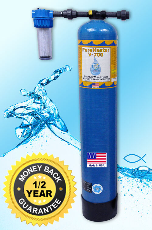 Vitasalus Pure Master V 700 Whole House Home Water Filter