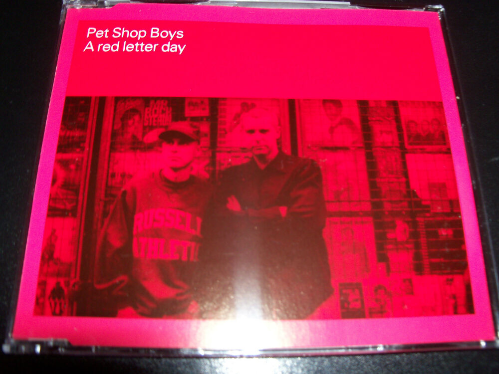red letter day pet shop boys letter day ultra australian 5 track 24235