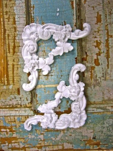 Shabby N Chic Furniture Appliques Corners Onlays