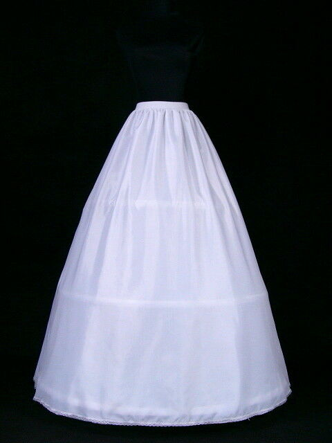 3 hoop 3 layers bridal wedding gown petticoat crinoline for Crinoline skirt for wedding dress