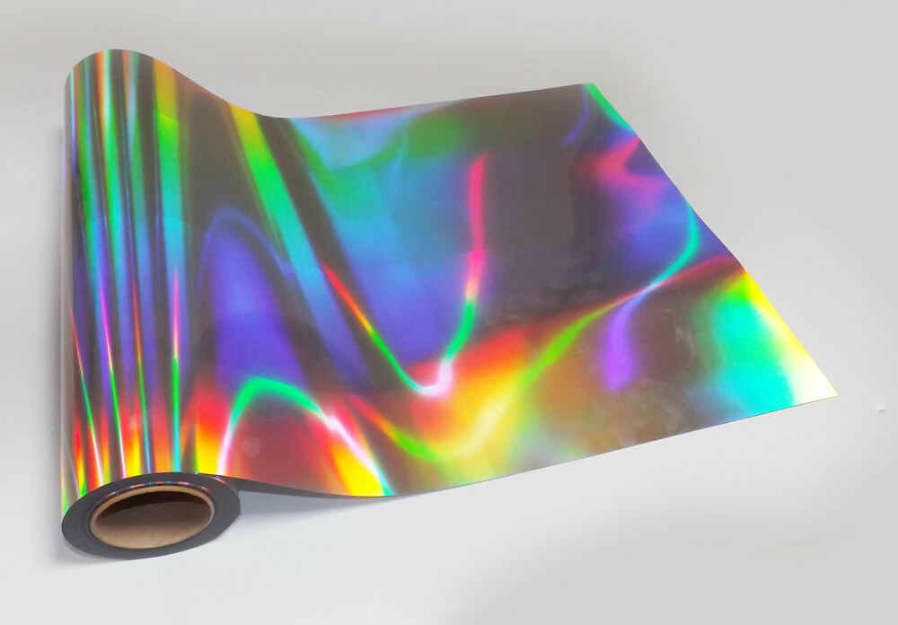 Buy 2 Get 1 Free 1m Roll Holographic Iridescent Sticky