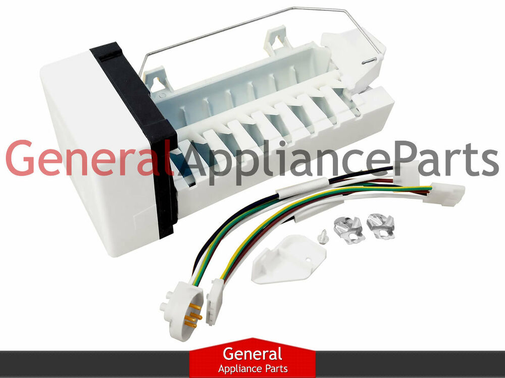 s l1000 amana maytag kenmore magic chef refrigerator replacement icemaker ice maker wiring harness maytag at mr168.co